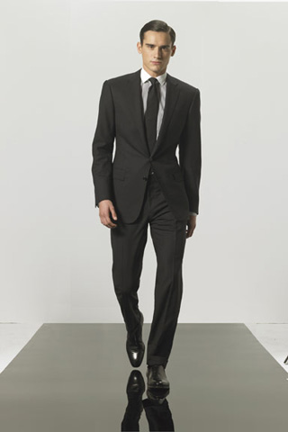 Ralph Lauren Black Label Anthony Gabardine Suit