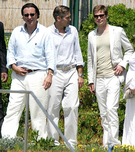 Clooney, Pitt, Garcia in Darfur