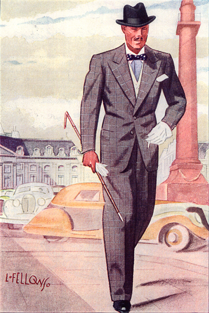 A Gentleman in Paris, 1936