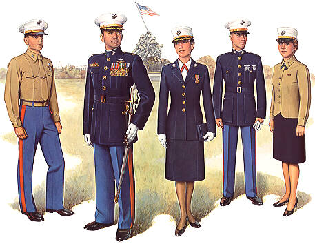 Marine Officer Dress Uniform
