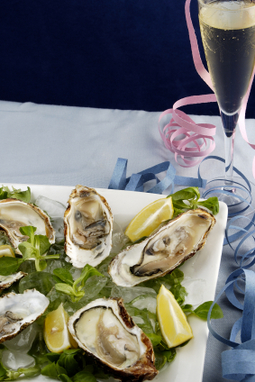 The World of Enough: Oysters and Champagne