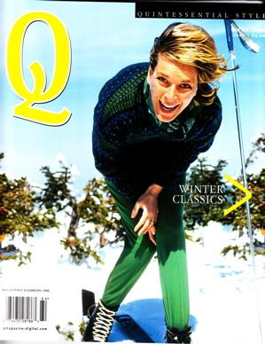 """""""Q"""" Quintessential Magazine"""