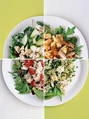 Real Simple's Chicken Salad 4 Ways