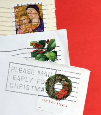 Xmas Postmarks