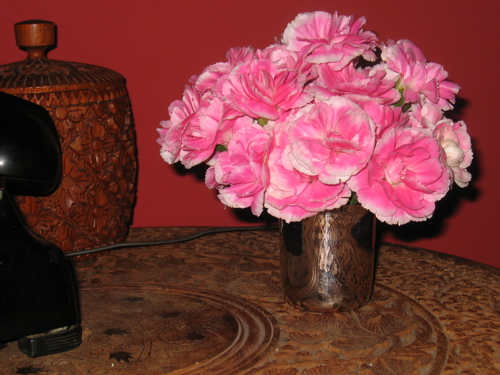 Breakfast Carnations