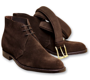C&J Chukka in Brown