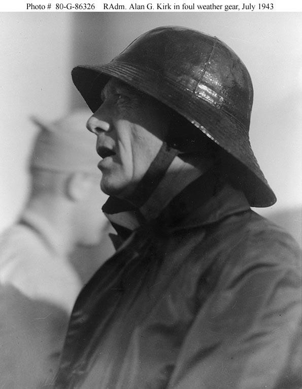 Rear Admiral Alan G. Kirk, USN 1943