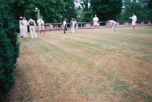 Croquet at Stroke May 1995