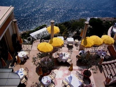 Dining Al Fresco in Nice, FR