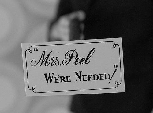 """Mrs. Peel We\'re Needed!\"""