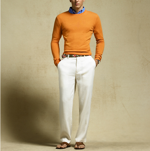 Linen Trousers Polo