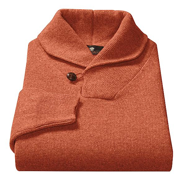 The Toscano Shawl Collar Sweater