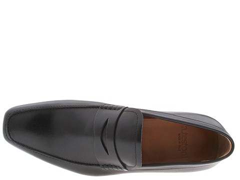 A. Testoni\'s Penny Loafer via Zappos Couture