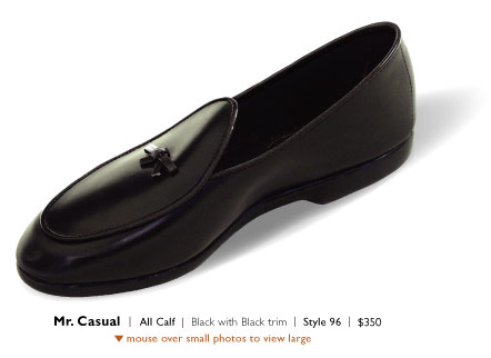 Mr. Casual in Calf by Belgian Shoes