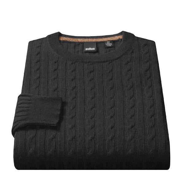 Cashmere Cable Knit Sweater via Sierra Trading Post