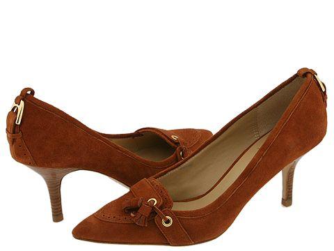 Pella Moda Taha Suede Pumps via Zappos.com