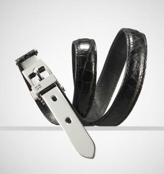 Skinny Alligator Belt by Ralph Lauren