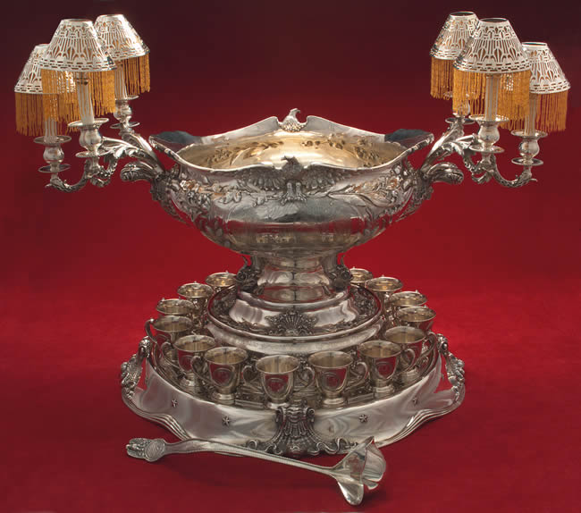 (The Sterling Punch Bowl from the USS North Carolina via Replacements.com)