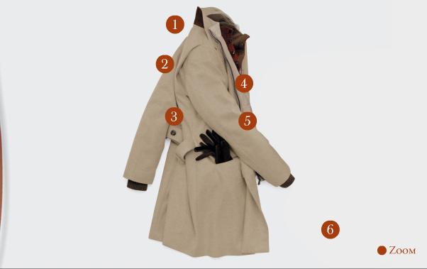 Loro Piana Martin-Gala Coat