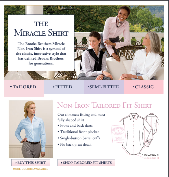 The Miracle Shirt by Brooks Brothers