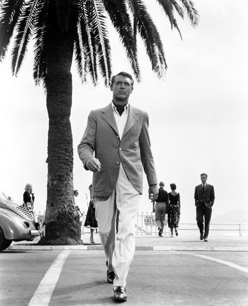 Cary Grant in Linen Jacket and Trousers