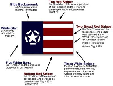 911_memorial_flag_details