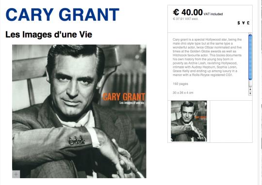 Cary Grant Images d'une Vie